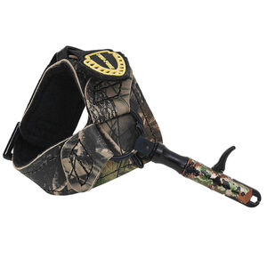 Tru-Fire Edge Buckle Foldback Bow Release with Buckle Wrist Strap Camo EGBF