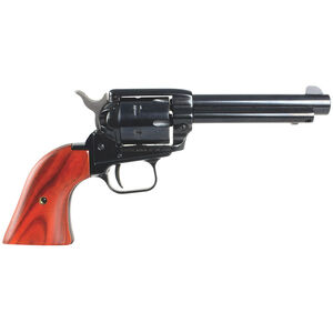 """Heritage Manufacturing Rough Rider Revolver .22 Long Rifle 4.75"""" Barrel 6 Rounds Cocobolo Grips Blue Finish RR22B6"""