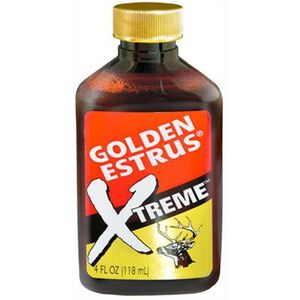 Wildlife Research Center Golden Estrus Xtreme Deer Attractant 4 oz Bottle 4074