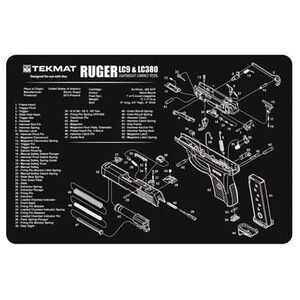 "TekMat Ruger LC9 Armorer's Mat Neoprene 11""x17"""
