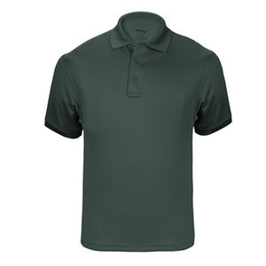 Elbeco UFX Tactical Polo Men's Short Sleeve Polo Small 100% Polyester Swiss Pique Knit Spruce Green