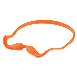 Radians RadBand 2 Banded Earplugs Orange