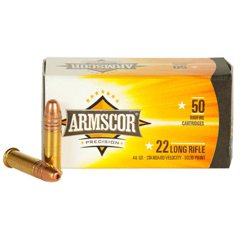 Armscor Precision .22LR Ammunition 40 Grain LRN 1135 fps