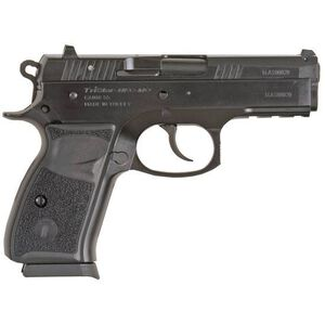 "TriStar P-100 Semi Auto Pistol 9mm Luger 3.7"" Barrel 15 Rounds Fixed Sights Polymer Grips Cerakote Black 85085"