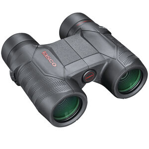 Tasco Focus Free 8x32mm Compact Sized Binoculars Porro Prism Rubber Coated Black