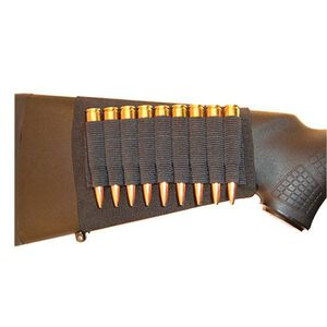 GrovTec Buttstock Rifle Cartridge Holder 9 Cartridge Loops
