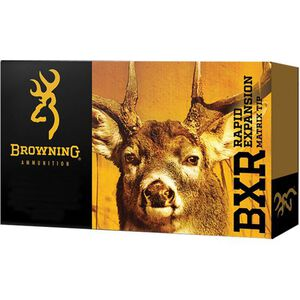 Browning BXR 6.5 Creedmoor Ammunition 20 Rounds BXR 129 Grains B192100651