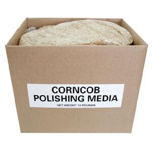 Polishing Media Corncob Polishing Media 10 lb Box Yellow