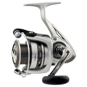 "Laguna 5BI Spinning Reel 2500, 5.3:1 Gear Ratio, 5BB, 1RB Bearings, 31.1"" Retrieve Rate, 8.80 lb Max Drag"