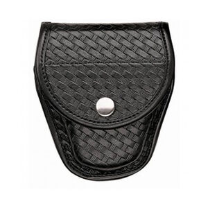 Bianchi 7900 Covered Cuff Case Brass Snaps AccuMold Basket Black 23100