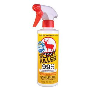Wildlife Research Scent Killer Super Charged 12 oz. Spray Bottle 1552