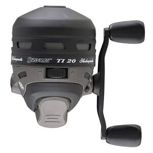 Shakespeare Synergy Ti Spincast Reel 20 Reel Size 3.2:1 Gear Ratio 2 Bearings 20 lb Pre-Spooled Ambidextrous