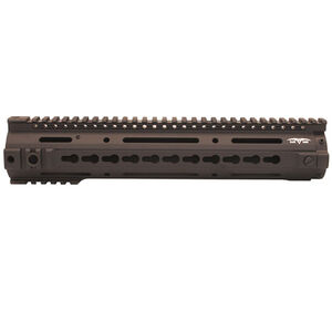 "Black Dawn 12"" Rifle Length KeyMod Rail Aluminum Black BD-10-KMRR-BLK"