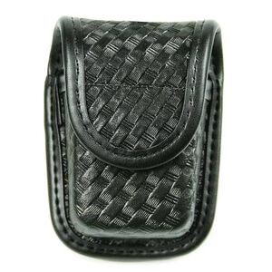 BLACKHAWK! Latex Glove Pouch Molded Nylon Black Basketweave 44A300BW
