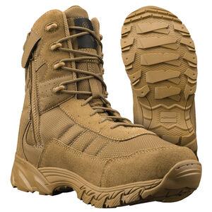 """Altama Vengeance Men's 8"""" Boot Side-Zip Size 15 Wide Coyote"""