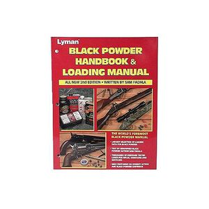 Lyman Black Powder Handbook and Loading Manual 2nd Edition By Sam Fadala
