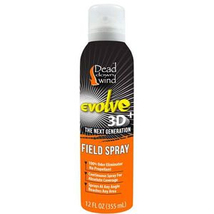 Dead Down Wind Evolve 3D Field Spray Scent Elimination Unscented Formula 12 oz Aerosol Can