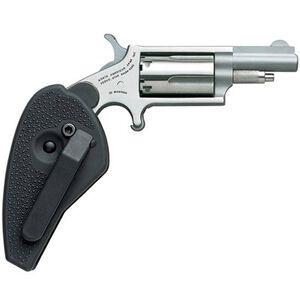 """NAA 22 Magnum .22 LR/WMR 1.625"""" 5rds Holster Grip/SS"""