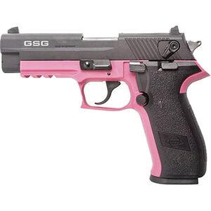 "ATI/GSG Firefly HGA 22 LR Semi Auto Pistol 4"" Barrel 10 Rounds Alloy Frame Pink/Black"