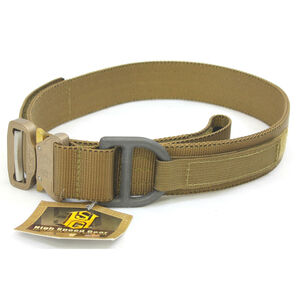 """High Speed Gear Cobra Rigger Belt 1.75"""" Large 36"""" to 38"""" Coyote Brown"""