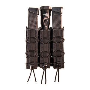 High Speed Gear Taco Shingle Triple Extended Pistol Magazine Pouch Black