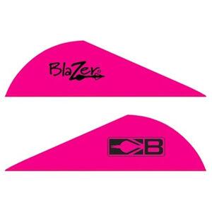 """Bohning Blazer Vanes 2"""" Solid Hot Pink 100 Pack 10832HP2"""