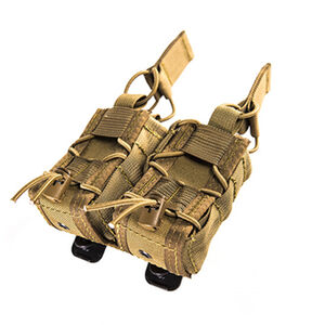 "High Speed Gear 40mm TACO Belt Mount Double 2"" x 4.5"" x 4.5"" 1000D Cordura Coyote Brown"
