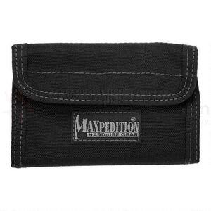 """Maxpedition Spartan Wallet 5.5""""x0.5""""x3.75"""" 1000 Denier Black"""