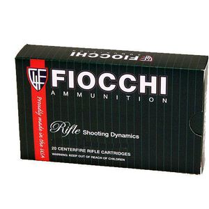 Fiocchi Rifle Shooting Dynamics .270 Win Ammunition 20 Rounds 150 Grain Hornady Interlock FB Bullet 2850fps