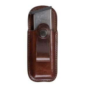 Bianchi Single Magazine Pouch Government 1911 Leather Tan 23174