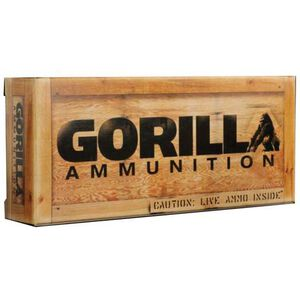Gorilla Ammunition .260 Remington Ammunition 20 Rounds Sierra Matchking BTHP 123 Grains GA260123SMK
