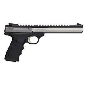 """Browning Buck Mark Contour Semi Auto Pistol .22 LR 7.25"""" Barrel 10 Rounds Synthetic Grips Black/Stainless Steel 051508490"""