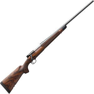 "Winchester Model 70 Super Grade .300 Win Mag Bolt Action Rifle 26"" Barrel 3 Rounds Adjustable Trigger French Walnut Stock Blued Finish"