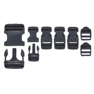 Voodoo Tactical Field Buckle Repair Kit 7 Total Buckles Black 02-740701000