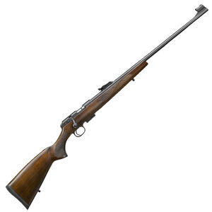 "CZ USA CZ 457 Lux .17 HMR Bolt Action Rifle 24.8"" Barrel 5 Rounds DBM European Style Turkish Walnut Stock Black Finish"
