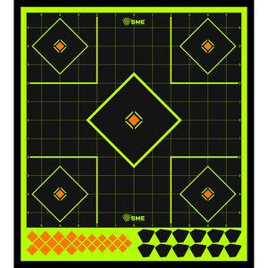 """SME Splatter Targets 12"""" Target Peel and Stick 6 Pack"""