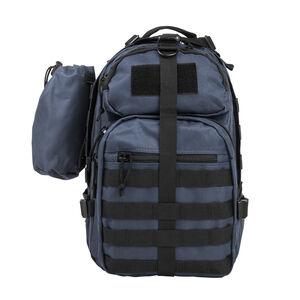 Small Backpack/Bottle Holder Blue