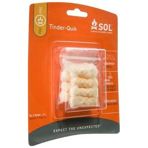 Adventure Medical SOL Tinder Quik Fire Starter Refill 12 Piece 0140-0006