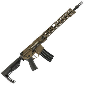 "POF USA Renegade Plus Semi Auto Rifle .300 AAC Blackout 16.5"" Barrel 30 Rounds Direct Gas Impingement System M-LOK Rail Burnt Bronze Finish"