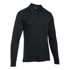 Under Armour Tactical Performance Men's Long Sleeve Polo Size 2XL Black