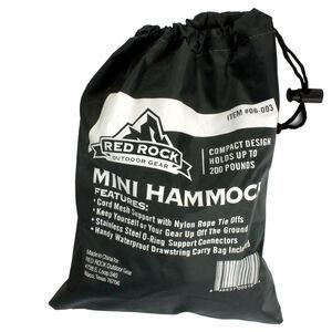 Red Rock Gear Nylon Hammock w/Nylon Carry Bag