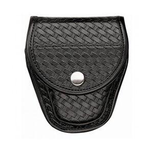 Bianchi 7900 Covered Cuff Case Brass Snaps AccuMold Basket Black 23100