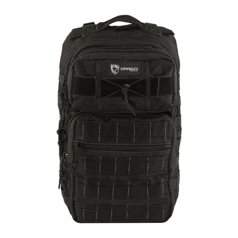 "Drago Gear Ranger 15"" Laptop Backpack 18"" x 17.5"" x 12"" MOLLE Webbing 1,463 Cubic Inches Hydration Reservoir Compatible Black 14309BL"