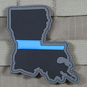 "Violent Little Machine Shop ""Thin Blue Line"" State of Louisiana Morale Patch"