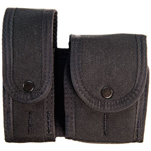 High Speed Gear Duty LEO TACO Covered Belt/MOLLE Magazine/Handcuff Pouch Cordura Black