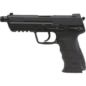 "H&K HK45T Tactical V1 Semi Auto Pistol .45 ACP 5.2"" Threaded Barrel 10 Rounds Polymer Frame Black Finish 745001T-A5"