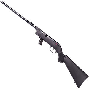 """Savage Model 64 Takedown .22 LR Left Hand Semi Auto Rimfire Rifle 16.5"""" Barrel 10 Rounds with Uncle Mikes Bug-Out Bag Black Synthetic Stock Blued Finish"""