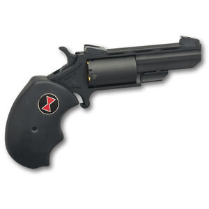 """NAA Black Widow .22 WMR Revolver 2"""" Barrel 5 Rounds Rubber Grips Stainless Frame PVD Finish"""