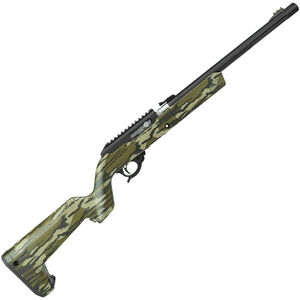 "Tactical Solutions X-Ring Takedown VR .22 LR Semi Auto Rifle 16.5"" Threaded Barrel 10 Rounds Mossy Oak Bottomland Stock Black Finish"