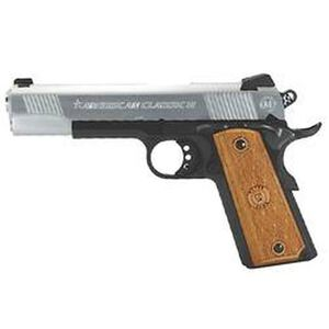 """American Classic II 1911 Government Semi Automatic Pistol .45 ACP 5"""" Barrel 8 Round Capacity Wood Grips Duo Tone Finish AC45G2DT"""